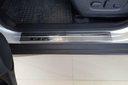 Door sill plates Nissan X-Trail III (T32) 2013-present stainless steel (NIS5XTEA) (1)