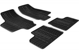 Opel Astra G 1998-2004 3 & 5-door & wagon car mats set anti-slip Rubbasol rubber (OPE1ASFR)