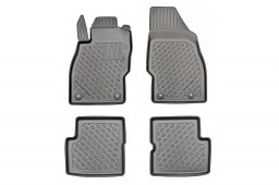 Opel Corsa D 2006-2014 3 & 5-door hatchback Cool Liner car mat set PE/TPE rubber (OPE1COFM) (1)
