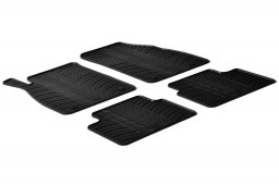 Opel Insignia A 2008-2013 4 & 5-door car mats set anti-slip Rubbasol rubber (OPE1INFR)