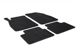 Opel Insignia A 2013-2017 4 & 5-door car mats set anti-slip Rubbasol rubber (OPE2INFR)