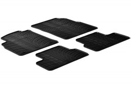 Opel Astra J 2009-2015 4 & 5-door car mats set anti-slip Rubbasol rubber (OPE3ASFR)