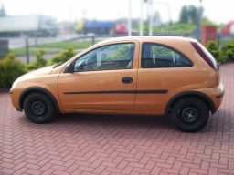 Opel Corsa C '00-'06 side protection set