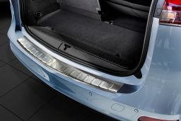 Opel Zafira Tourer C 2011-> rear bumper protector stainless steel (OPE4ZABP) (1)
