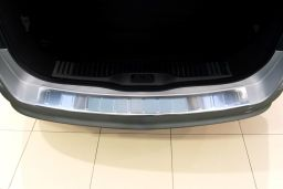 Opel Astra H 2004-2010 wagon rear bumper protector stainless steel (OPE7ASBP) (1)