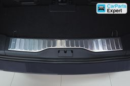 Opel Zafira B 2005-2011 trunk entry cover stainless steel (OPE7ZABP)