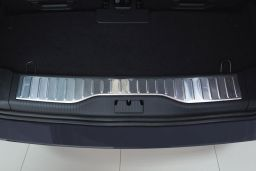 Opel Zafira B 2005-2011 trunk entry cover stainless steel (OPE7ZABP) (1)