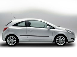 Opel Corsa D '06- 3d side protection set