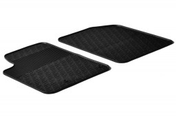 Peugeot Partner I 2002-2008 car mats set anti-slip Rubbasol rubber (PEU1PAFR)