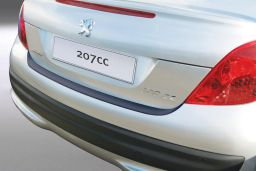 Peugeot 207 CC 2006-2014 3-door hatchback rear bumper protector ABS (PEU227BP)