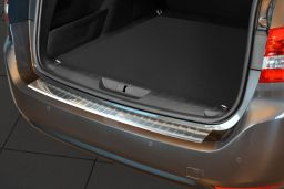Peugeot 308 II SW 2014-> wagon rear bumper protector stainless steel (PEU238BP) (1)