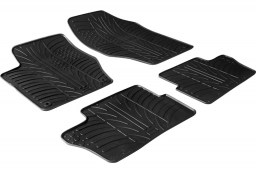 Peugeot 308 I SW 2007-2014 wagon car mats set anti-slip Rubbasol rubber (PEU238FR)
