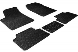 Peugeot Partner I 2002-2008 car mats set anti-slip Rubbasol rubber (PEU2PAFR)