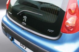Peugeot 107 2005-2014 3 & 5-door hatchback rear bumper protector ABS (PEU317BP)