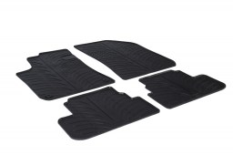 Peugeot 308 II 2013-present 5-door hatchback car mats set anti-slip Rubbasol rubber (PEU338FR)