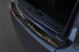 Peugeot 4007 2007-2012 rear bumper protector stainless steel black (PEU340BP)