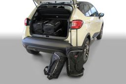 Renault Captur 2013-heden 5d Car-Bags set