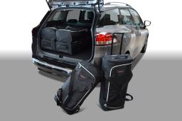 Renault Clio IV Estate / Grandtour 2013-heden Car-Bags set
