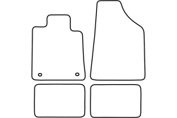 Renault 24 1984-1992 5d car mat set (REN124MV)