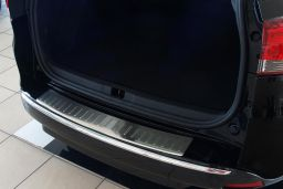 Renault Clio IV Estate - Grandtour 2013-> wagon rear bumper protector stainless steel (REN1CLBP) (3)