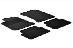 Renault Laguna III 2007-2015 5-door hatchback car mats set anti-slip Rubbasol rubber (REN1LAFR)