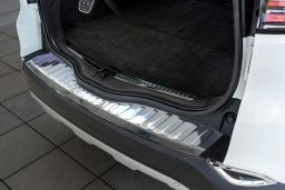 Renault Espace V 2015-> rear bumper protector stainless steel (REN2ESBP) (1)