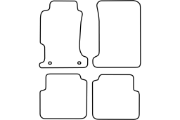 Rover 600 1993-1999 4d car mat set (ROV160MV)