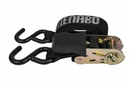 Menabo Professional S-hook ratchet belt set 330 cm (RRA2RM)