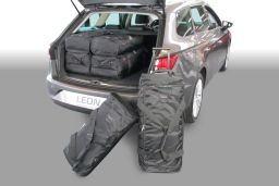 Seat Leon ST (5F) 2014-> Car-Bags set