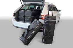 Skoda Superb III (3V) Combi 2015-heden Car-Bags set