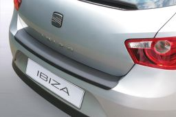Seat Ibiza (6J) 2008-2012 5-door hatchback rear bumper protector ABS (SEA10IBBP)