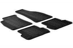 Seat Exeo (3R) 2008-2013 4-door saloon car mats set anti-slip Rubbasol rubber (SEA1EXFR)
