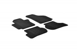 Seat Altea XL (5P) 2006-2009 car mats set anti-slip Rubbasol rubber (SEA3ATFR)