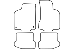 Seat Ibiza (6K2) 1999-2002 3d & 5d car mat set (SEA3IBMV)