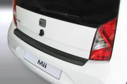 Seat Mii 2011-> 3 & 5-door hatchback rear bumper protector ABS (SEA3MIBP)