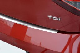 Seat Leon (5F) 2012-> 5-door hatchback rear bumper protector stainless steel (SEA4LEBP) (1)