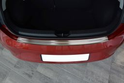 Seat Leon (5F) 2012-> 5-door hatchback rear bumper protector stainless steel (SEA4LEBP) (3)