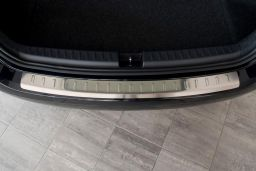 Seat Ibiza ST (6J) 2010-> wagon rear bumper protector stainless steel (SEA7IBBP) (2)