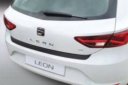 Seat Leon (5F) 2012-> 5-door hatchback rear bumper protector ABS (SEA8LEBP)