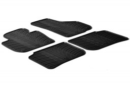 Skoda Superb II (3T) 2008-2015 5-door hatchback car mats set anti-slip Rubbasol rubber (SKO1SUFR)
