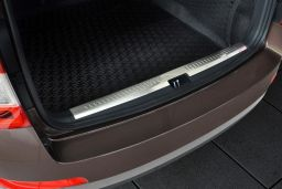 Skoda Octavia III Combi (5E) 2013-2017 wagon trunk entry cover stainless steel (SKO30OCBP) (1)