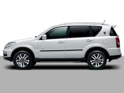 SsangYong Rexton 1+2+W '02- side protection set