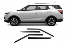 SsangYong Tivoli XLV 2016-present side window delfectors set 4 pcs (SSY2TISV)
