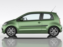 Volkswagen up! '12- 3d side protection set