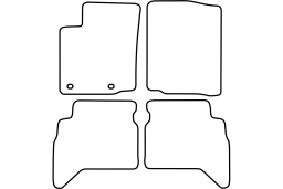 Suzuki Grand Vitara 1998-2005 3d & 5d car mat set (SUZ1GVMV)