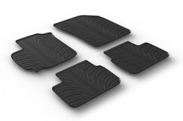 Suzuki Swift (FZ-NZ) 2010-2017 5-door hatchback car mats set anti-slip Rubbasol rubber (SUZ1SWFR)