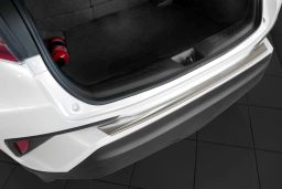 Toyota C-HR 2016-> rear bumper protector stainless steel (TOY1CHBP) (1)