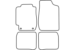 Toyota Corolla (E100) 1993-1997 3d & 4d & 5d & wagon car mat set (TOY1COMV)
