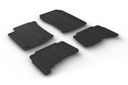 Toyota Land Cruiser (J150) 2013-present car mats set anti-slip Rubbasol rubber (TOY1LAFR)