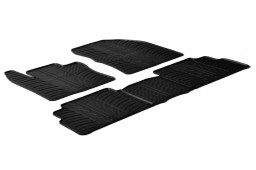 Toyota Verso I 2009-2018 car mats set anti-slip Rubbasol rubber (TOY1VEFR)